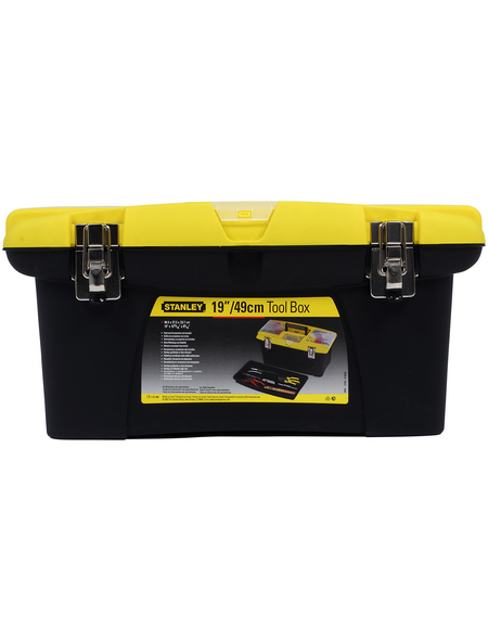 "STANLEY Werkzeugbox »Jumbo 19"" - 1-92-906«, BxHxL: 48,6 x 27,6 x 23,2 cm, Kunststoff"