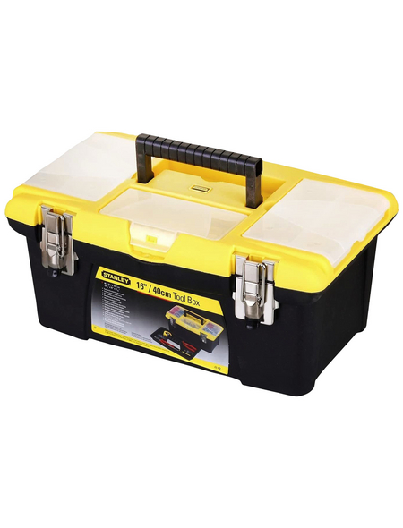 STANLEY Werkzeugbox »Jumbo«, BxHxL: 40,5 x 25,4 x 17,8 cm, Kunststoff