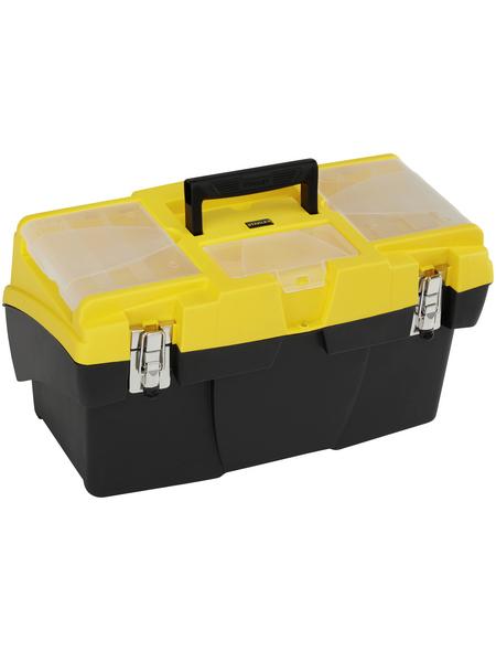 STANLEY Werkzeugbox »Mega«, BxHxL: 49,5 x 26,5 x 26,1 cm, Kunststoff