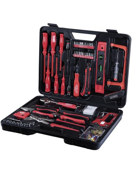 CONNEX Werkzeugkoffer »CP566060«, Kunststoff, bestückt, 60-teilig