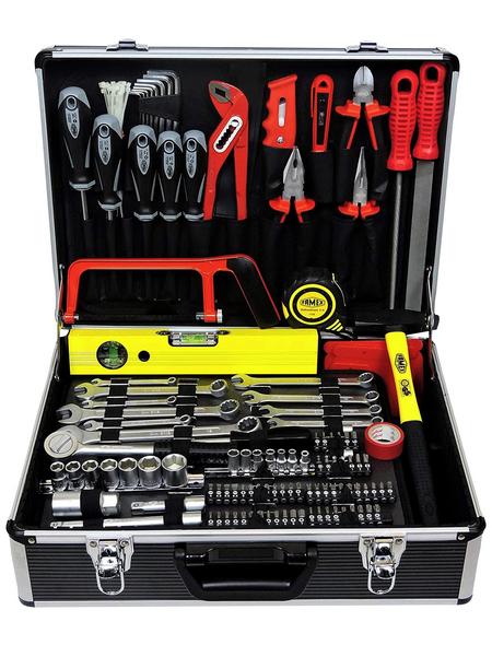 FAMEX Werkzeugkoffer »FAMEX 745-49«, Kunststoff, bestückt, 162-teilig