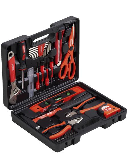 werkzeyt Werkzeugkoffer, Kunststoff, bestückt, 44-teilig