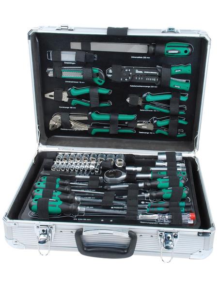 BRUEDER MANNESMANN WERKZEUGE Werkzeugkoffer »M29075«, Metall, bestückt, 108-teilig