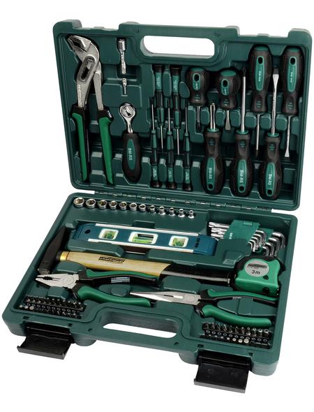 BRUEDER MANNESMANN WERKZEUGE Werkzeugkoffer »M29084«, Kunststoff, bestückt, 86-teilig