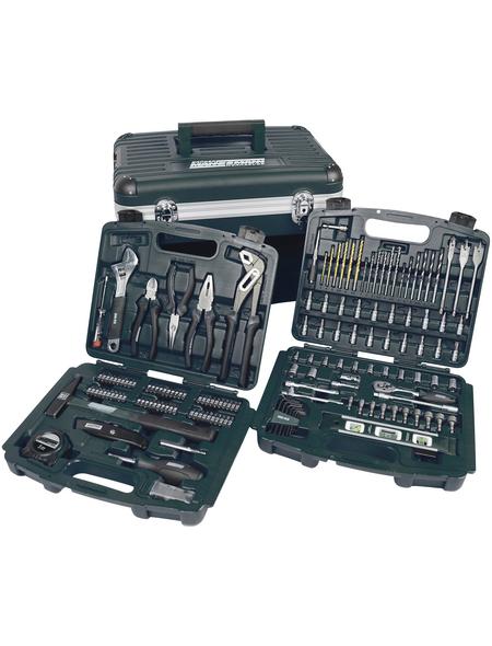 BRUEDER MANNESMANN WERKZEUGE Werkzeugkoffer »M29087«, Kunststoff, bestückt, 163-teilig