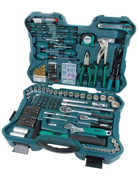BRUEDER MANNESMANN WERKZEUGE Werkzeugkoffer »M29088«, Kunststoff, bestückt, 303-teilig