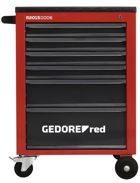 GEDORE RED Werkzeugsatz »MECHANIC«, Stahl, bestückt, 129-teilig