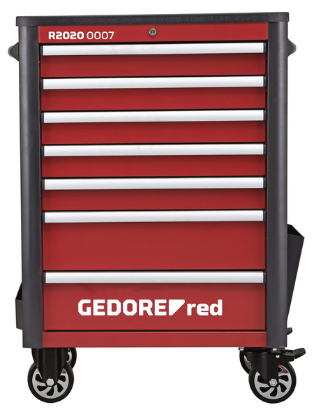 GEDORE RED Werkzeugsatz »WINGMAN«, Stahl, bestückt, 129-teilig
