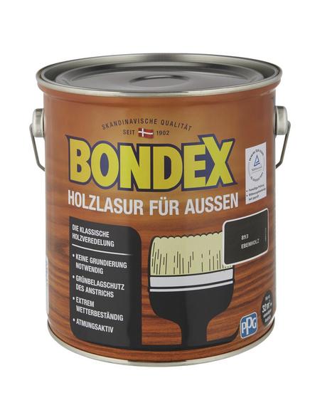 BONDEX Wetterschutzfarbe »Holzlasur für außen«, Lasierend