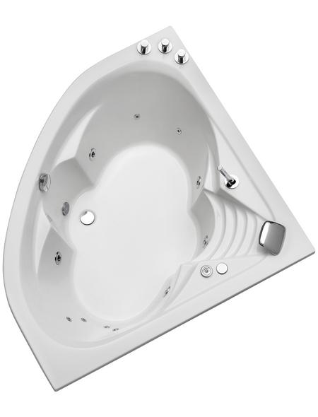 OTTOFOND Whirlpool »Cascade«, für 1 Person, BxTxH: 140 x 140 x 43 cm