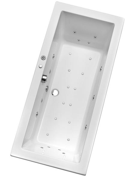 OTTOFOND Whirlpool »Cubic «, für 1 Person, BxTxH: 75x170x49,5 cm