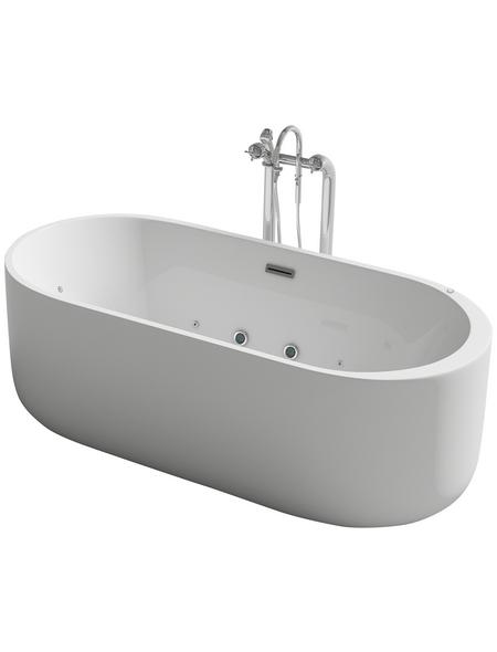 HOME DELUXE Whirlpool, für 2 Personen, B x T x H: 170 x 80  x  58 cm