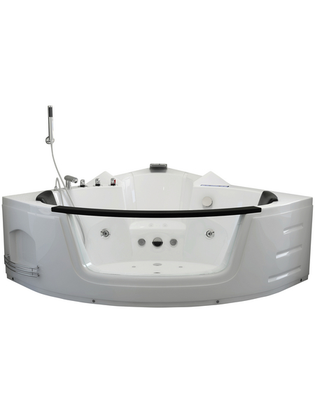 HOME DELUXE Whirlpool, für 3 Personen, BxTxH: 140 x 140 x 65 cm