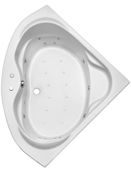 OTTOFOND Whirlpool »Madras«, für 2 Personen, BxTxH: 145 x 145 x 42 cm