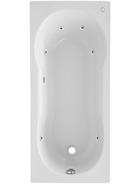 OTTOFOND Whirlpool »Nixe«, für 1 Person, BxTxH: 75 x 170 x 1700 cm