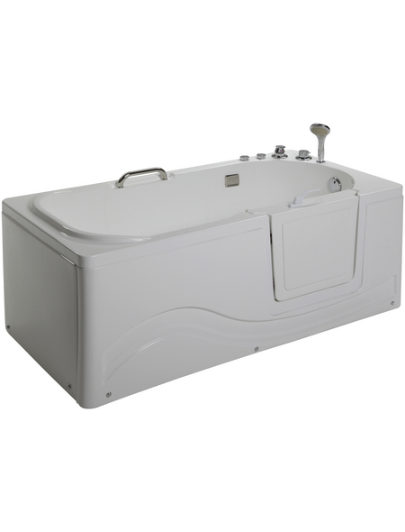 HOME DELUXE Whirlpoolwanne, L x B: 153 cm x 153 cm