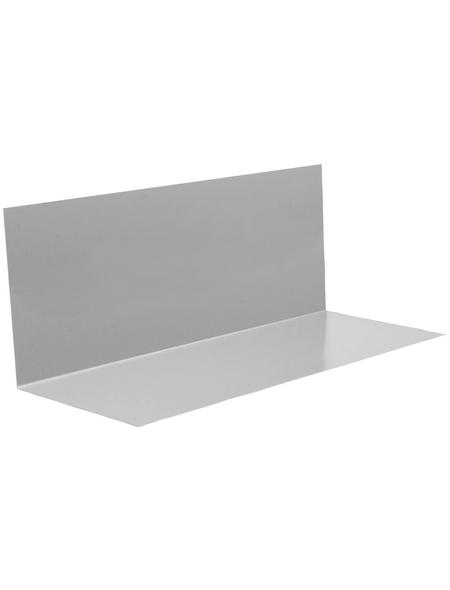 SAREI Winkelblech, BxL: 125 x 2000 mm, Aluminium, ohne Wasserfalz