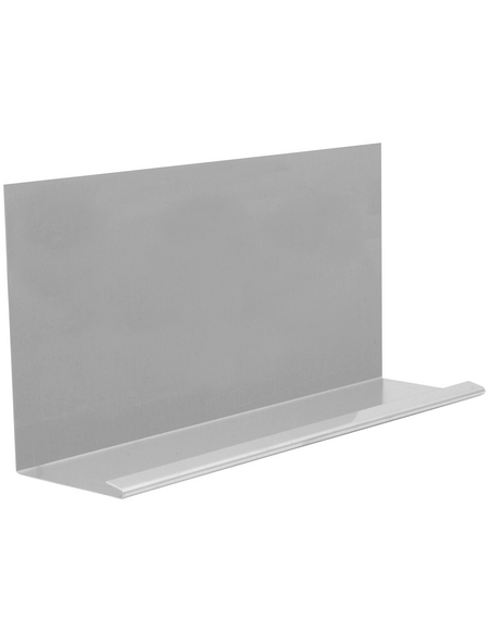 SAREI Winkelblech, BxL: 156 x 1000 mm, Aluminium, mit Wasserfalz