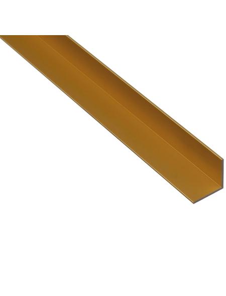 GAH ALBERTS Winkelprofil Alu gold 1000 x 40 x 40 x 2 mm