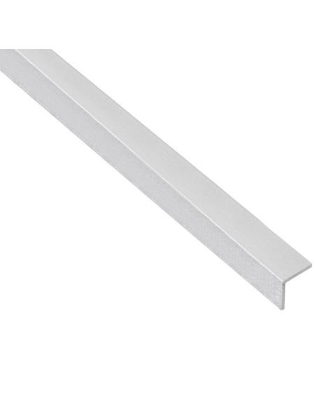 GAH ALBERTS Winkelprofil Alu silber 1000 x 20 x 20 x 1 mm