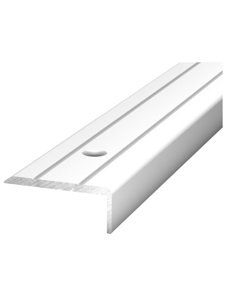 CARL PRINZ Winkelprofil Alu silber 1000 x 24,5 x 10 mm
