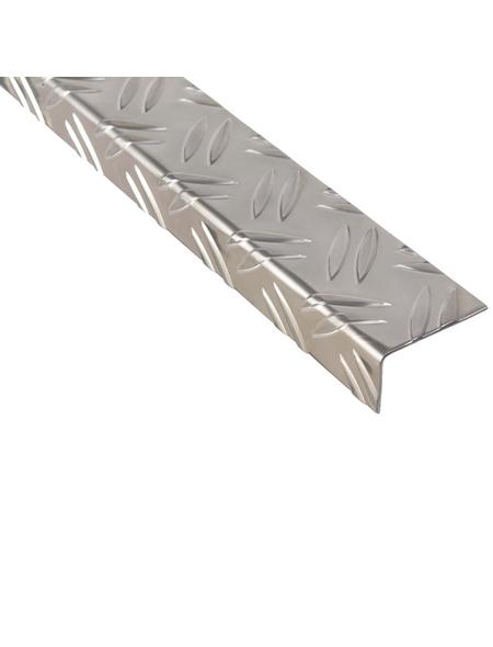 GAH ALBERTS Winkelprofil Alu silber 1000 x 43,5 x 23,5 x 1,5 mm