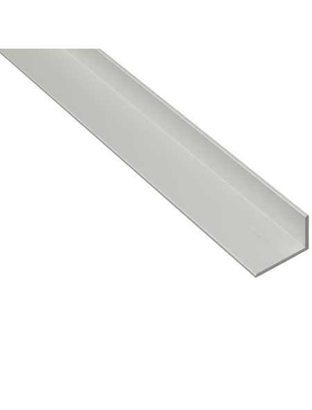 GAH ALBERTS Winkelprofil Alu silber 1000 x 50 x 20 x 2 mm