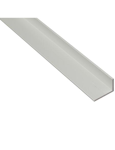 GAH ALBERTS Winkelprofil Alu silber 1000 x 60 x 25 x 2 mm