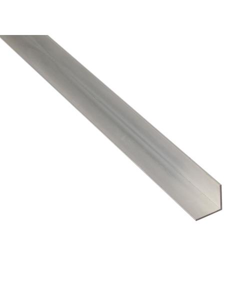 GAH ALBERTS Winkelprofil Alu silber 1000 x 60 x 60 x 4 mm