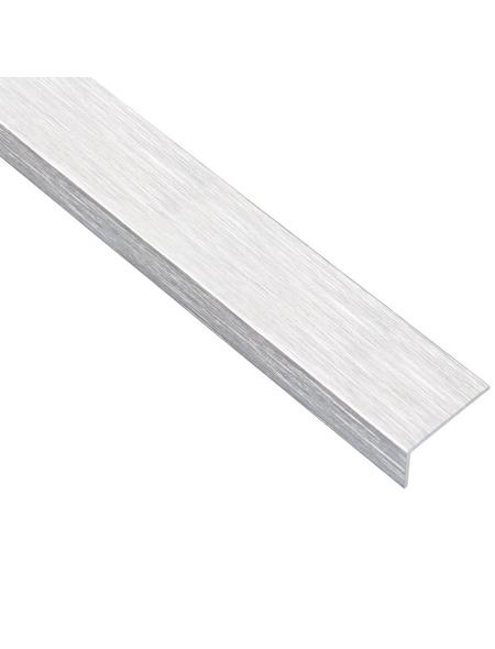 GAH ALBERTS Winkelprofil Alu silber 2000 x 15 x 10 x 1 mm