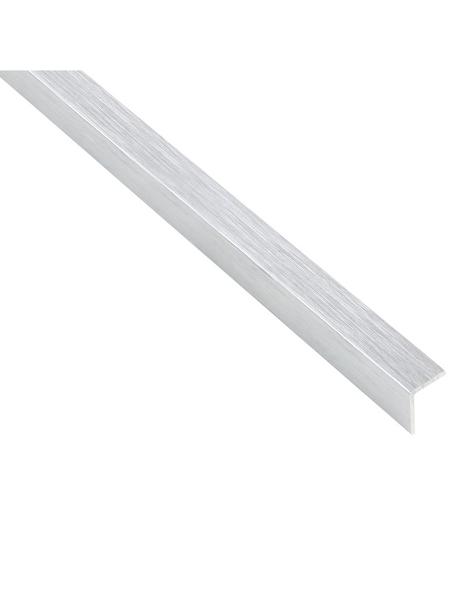 GAH ALBERTS Winkelprofil Alu silber 2000 x 15 x 15 x 1 mm