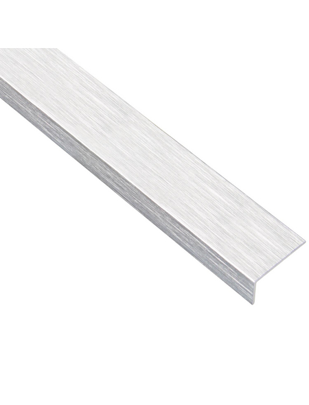 GAH ALBERTS Winkelprofil Alu silber 2000 x 30 x 15 x 1,5 mm