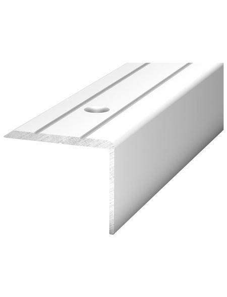 CARL PRINZ Winkelprofil Alu silber 2700 x 24,5 x 20 mm