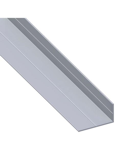 alfer® aluminium Winkelprofil combitech® Alu silber 1000 x 35,5 x 19,5 x 1,5 mm