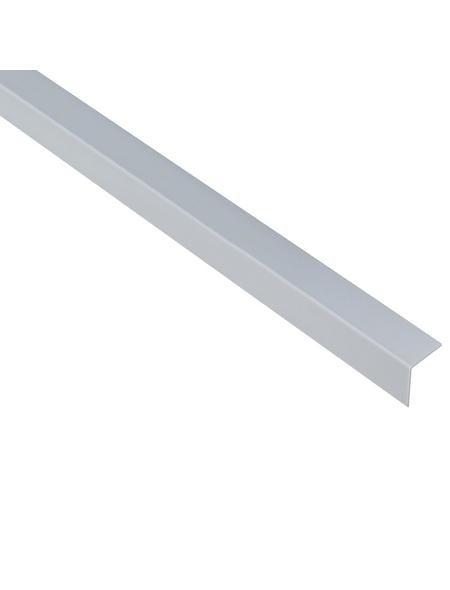 GAH ALBERTS Winkelprofil Kunststoff grau 1000 x 20 x 20 x 1 mm