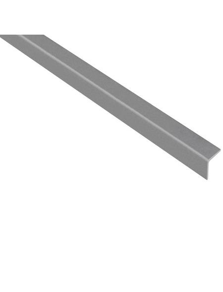 GAH ALBERTS Winkelprofil Kunststoff grau 2600 x 20 x 20 x 1,5 mm