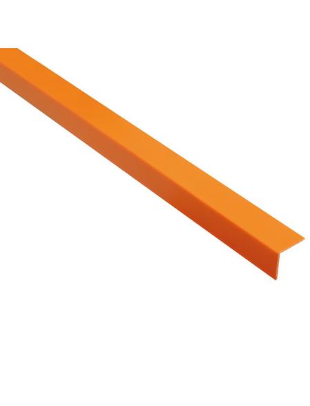 GAH ALBERTS Winkelprofil Kunststoff orange 2600 x 20 x 20 x 1,5 mm