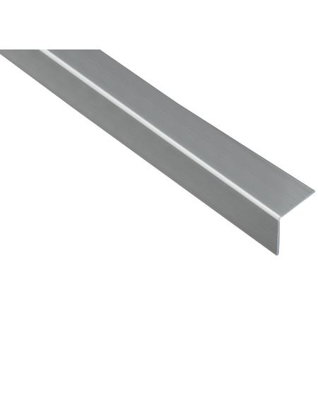 GAH ALBERTS Winkelprofil Kunststoff silber 2600 x 30 x 30 x 1,5 mm