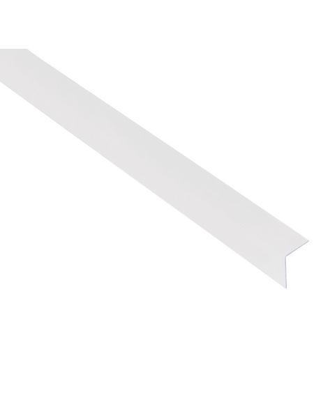 GAH ALBERTS Winkelprofil Kunststoff transparent 1000 x 20 x 20 x 1,5 mm