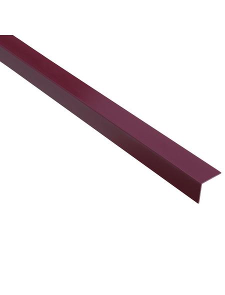 GAH ALBERTS Winkelprofil Kunststoff violett 2600 x 20 x 20 x 1,5 mm