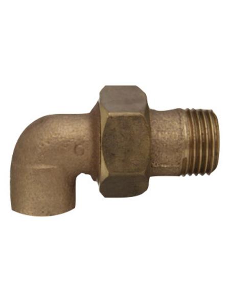 CORNAT Winkelverschraubung, mit Außengewinde und Muffe, 15 mm x 1/2Z AG