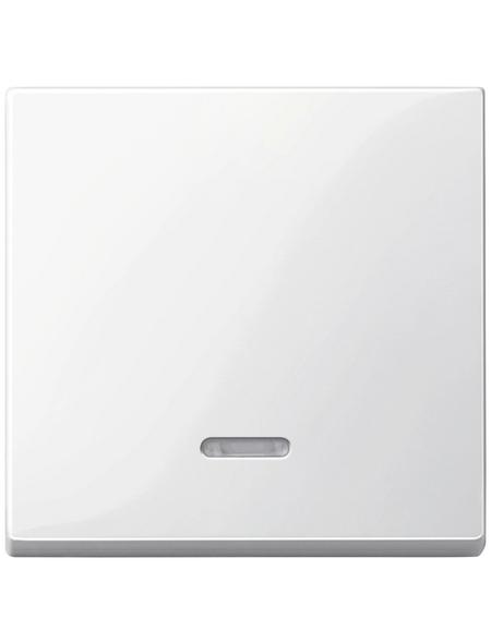 merten Wippschalter, Thermoplast, polarweiß