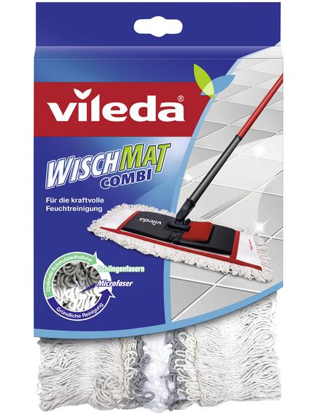 VILEDA Wischbezug, BxL: 15 x 40 cm, Baumwolle/Polyester