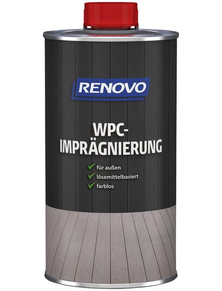 RENOVO WPC-Imprägnierung für außen, 0,75 l, farblos