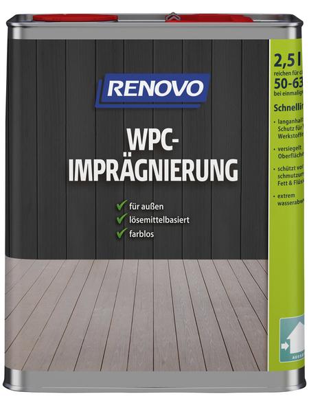 RENOVO WPC-Imprägnierung, für außen, 2,5 l, farblos