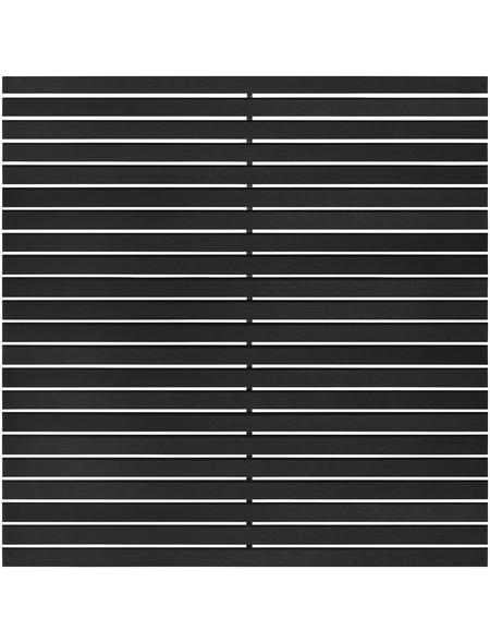 MR. GARDENER WPC-Rhombuszaun »Katepos«, WPC, 11 Stück, LxH: 180 x 90 cm