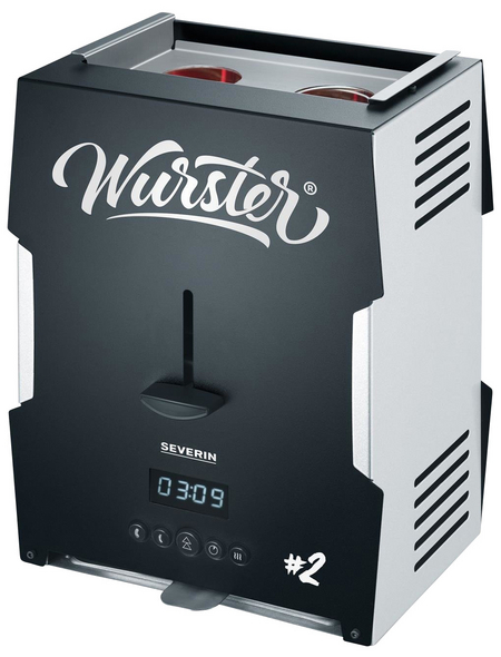 SEVERIN Wurster, 2000 W, Kunststoff|Edelstahl