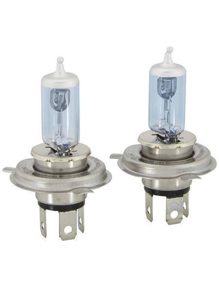 UNITEC Xenon-Leuchtmittel, H4, P43t, 55 W, 2 Stück