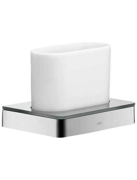 HANSGROHE Zahnputzbecher »Axor Universal«, Höhe: 10,5 cm, verchromt