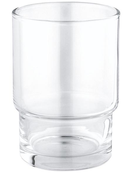 GROHE Zahnputzbecher »Essentials«, Kristallglas, transparent